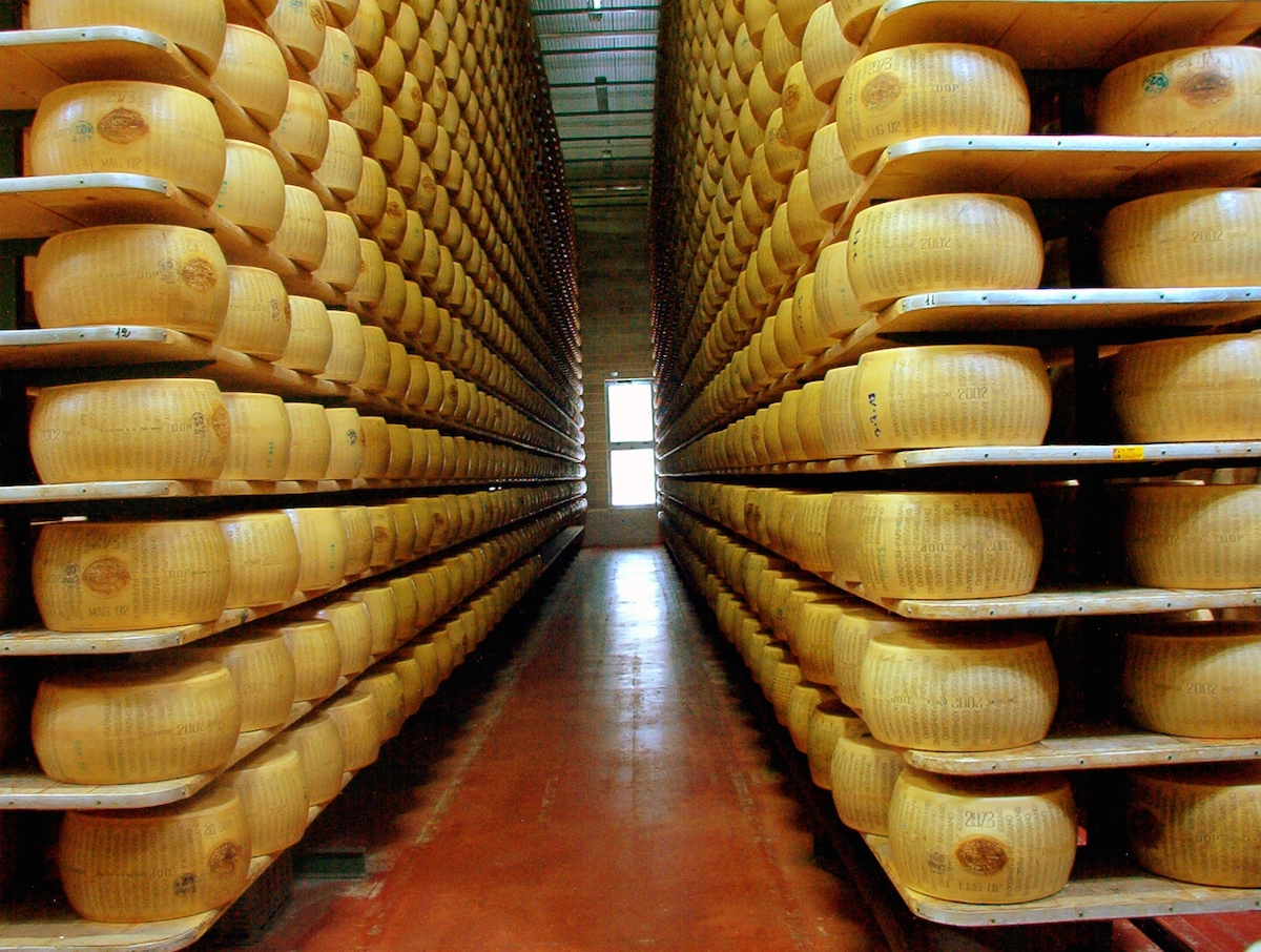 Parmigiano reggiano factory