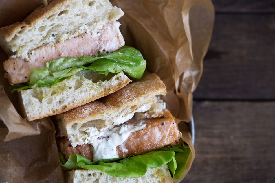 Opah Sandwich