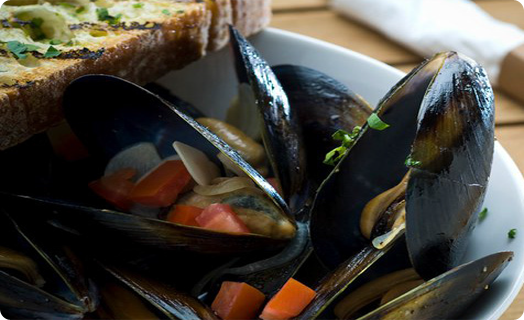 Mussels (P.E.I.) Steamed with Beer