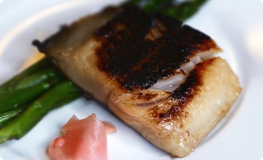 Sablefish with Miso Marinade