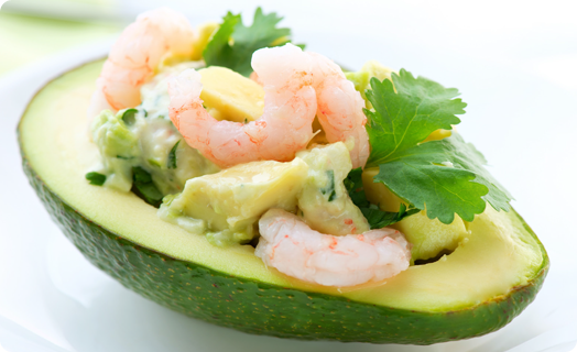 Shrimp (Bay) Avocado Salad