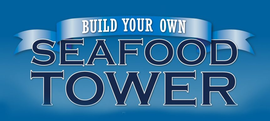 Build Your Own Seafood Tower 4x6