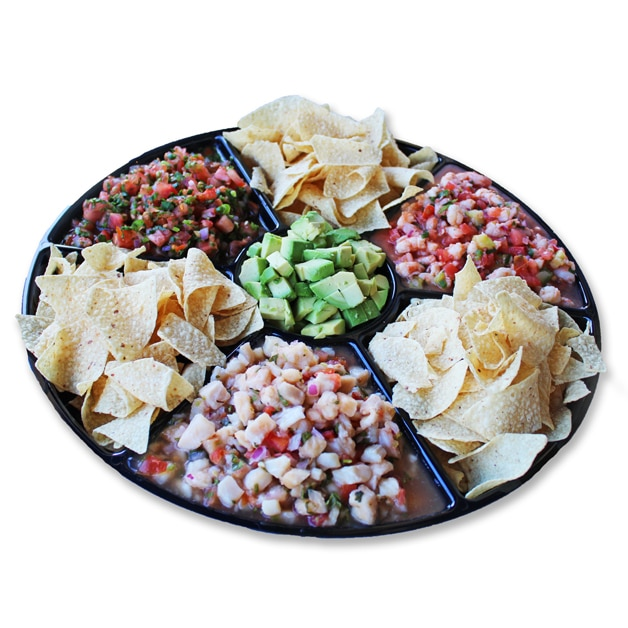 19 Ceviche Platter 1