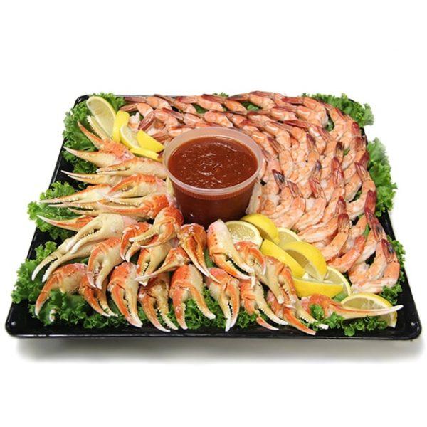 Crab and Shrimp Platter