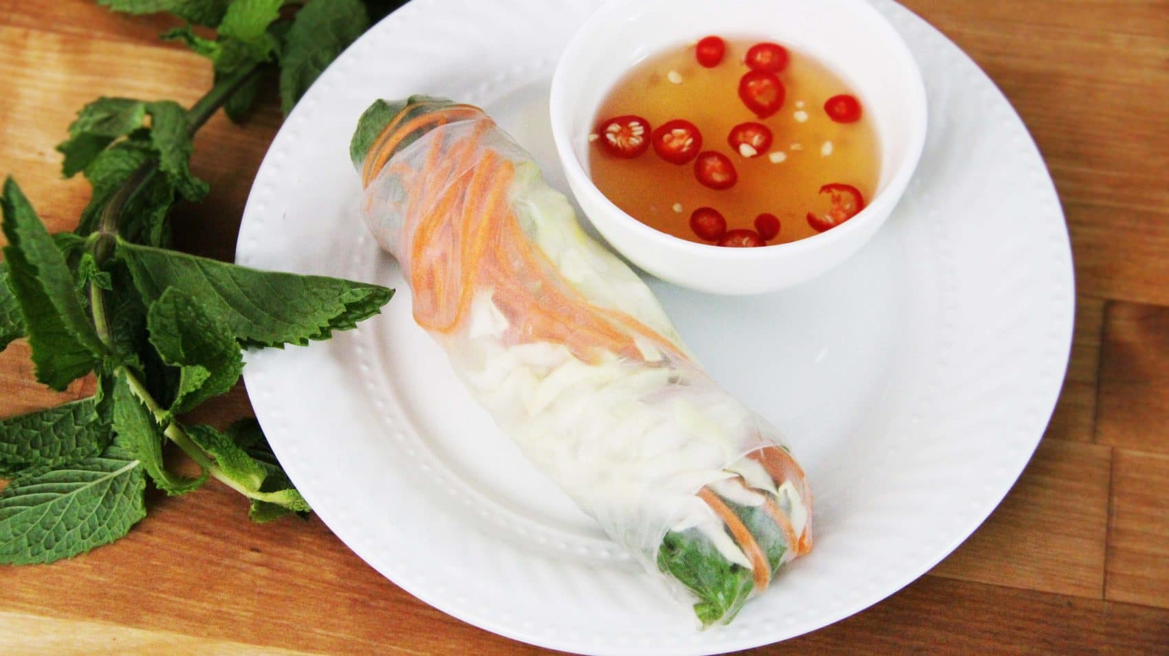 Lobster Summer Rolls