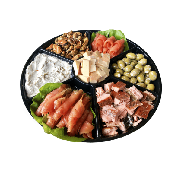 smoked salmon platter sm