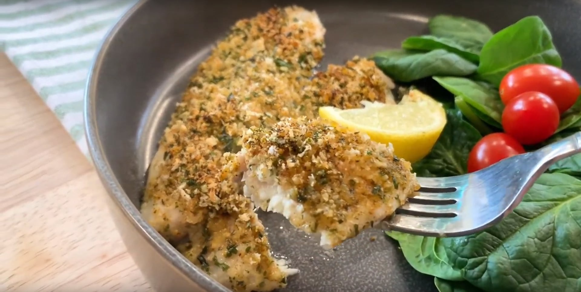 Simple Baked Tilapia