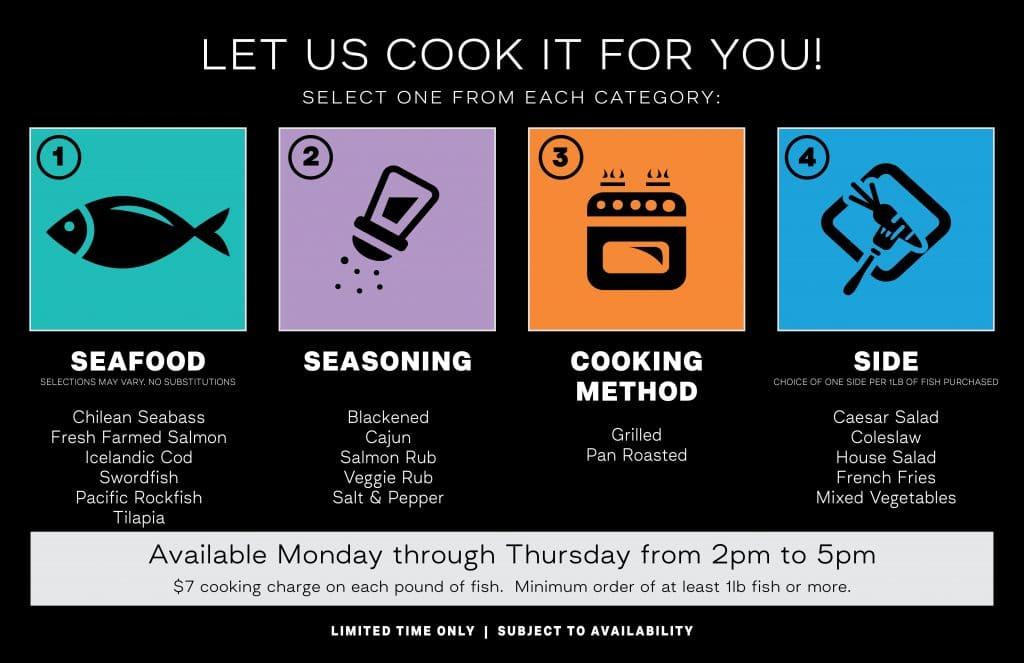 let us cook it for you