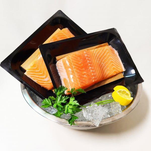cedar plank salmon in black tray final