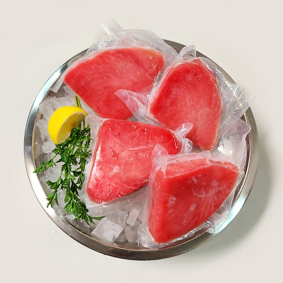 ahi yellowfin tuna portions