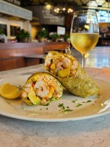 Cajun Shrimp Wrap resized