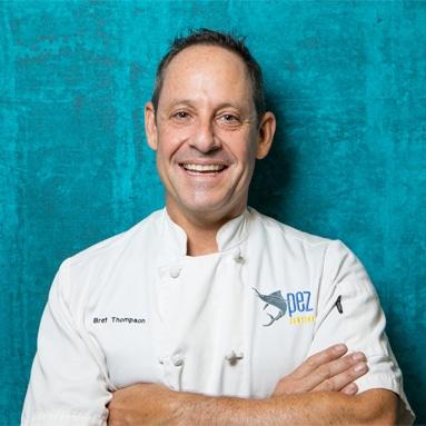 Chef Bret Thompson Pez Cantina