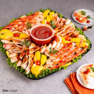 Snow Crab Claws and Shrimp Platter Large