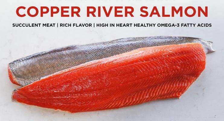 Web Banner x Copper River Season is Here