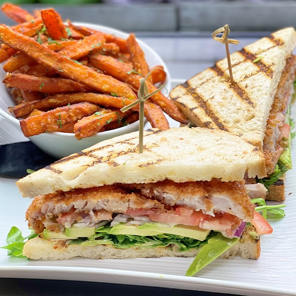 Panko Crusted Rockfish Sandwich x